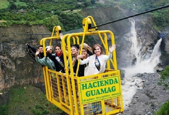 Turismo en Ecuador Cascadas y aguas termales en Baños