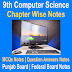 9th Computer Science Full Book Abbreviations Notes