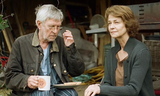 "Charlotte Rampling and Tom Courtnay in ""45 Years"""