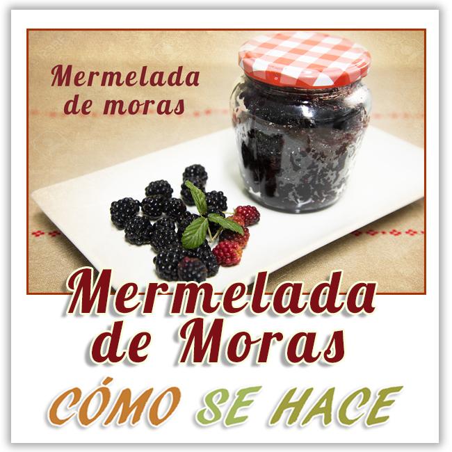 MERMELADA DE MORAS SILVESTRES
