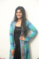Megha Akash in a beautiful Anarkali dress with Long Jacket at LIE success meet ~  Exclusive Celebrities Galleries 012.JPG