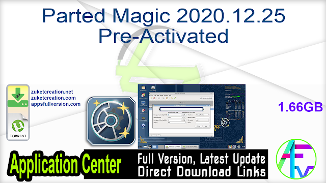 Parted Magic 2020.12.25 Pre-Activated