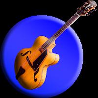 لوجو تطبيق رقم واحد لتعليم المقامات والعزف على آلة الجيتار للهاتف المحمول
