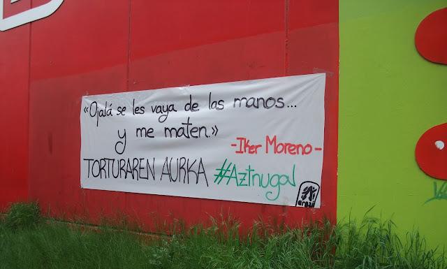 Campaña de Aztnugal contra Carmen Alba