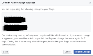 Cara Mengubah URL Fans Page FB