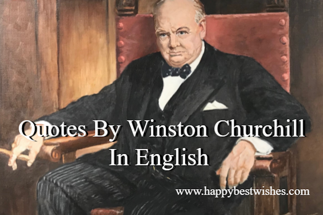 Quotes By Winston Churchill In English