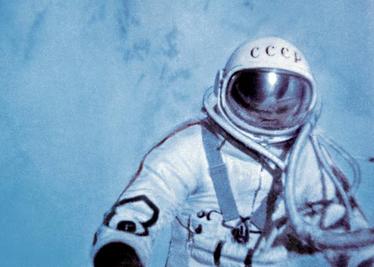 Zdjęcie kosmonauty sowieckiego