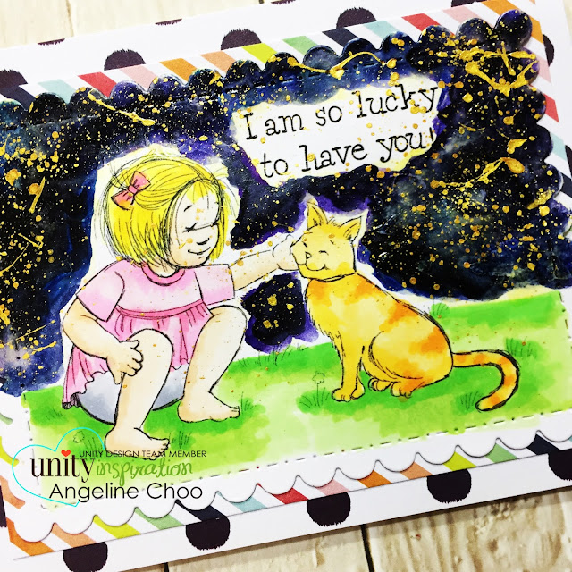 ScrappyScrappy: [NEW VIDEO] DT Blog Hop with Unity Stamp #scrappyscrappy #unitystampco #phyllisharris #card #cardmaking #stamp #stamping #ginamariedesigns #gansaitambi #watercolor #galaxysky #friendship #copic #papercraft #youtube #quicktipvideo #processvideo