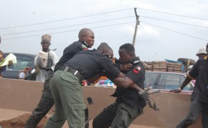 Image result for Drunk Policeman In Benue Shoots Driver