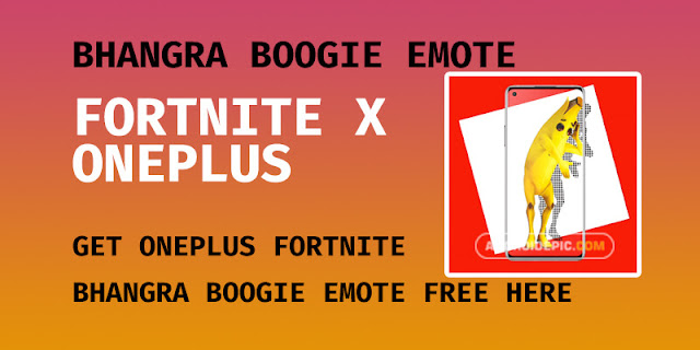 How to claim Bhangra Boogie Fortnite Emote free for OnePlus 1. Sign in to your OnePlus Account for redemption: