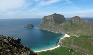 Paesaggio tipico del clima oceanico