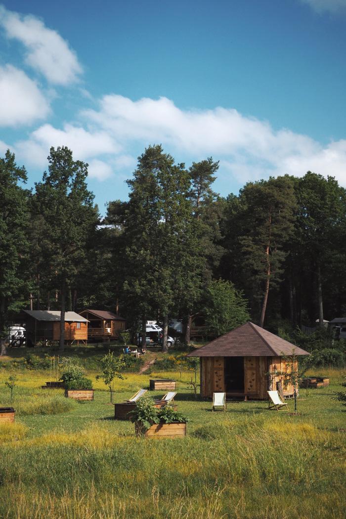 Logement en lodge au camping de Osenbach en Alsace