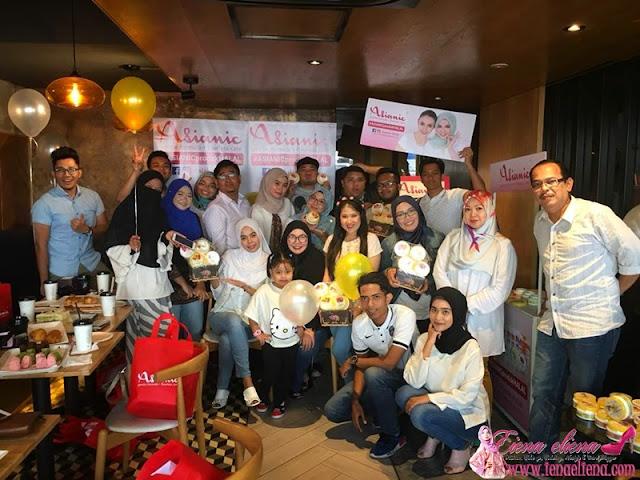 Majlis pelancaran Lulur Scrub Asianic Bersama Blogger