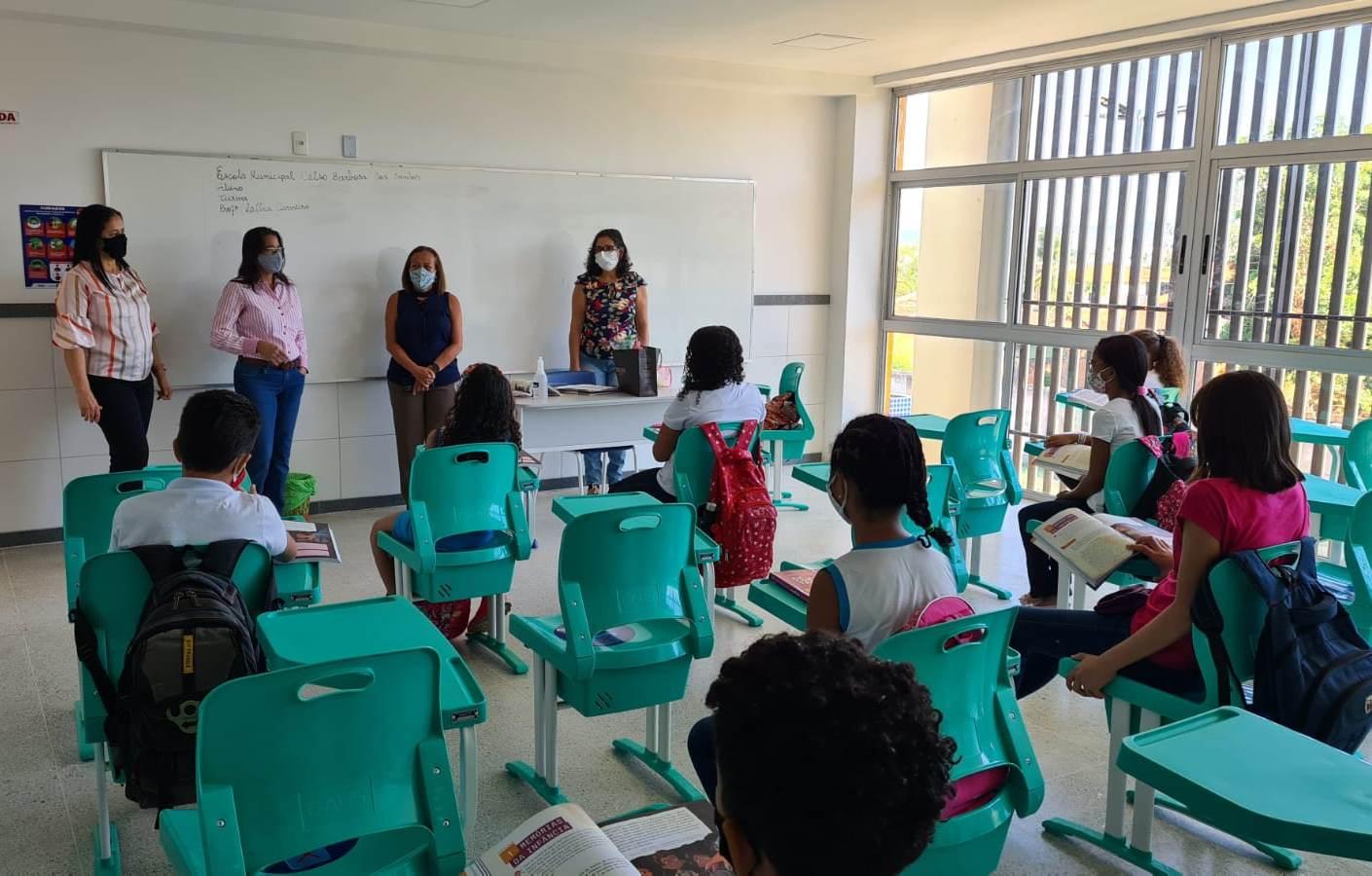Aulas presenciais do Ensino Fundamental I são retomadas em Barreiras