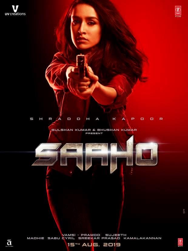 Saaho First Look Shraddha
