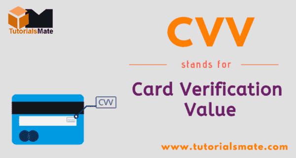 CVV Full Form