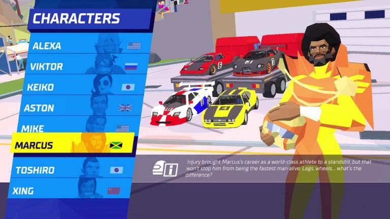 Hotshot Racing PC Full Español