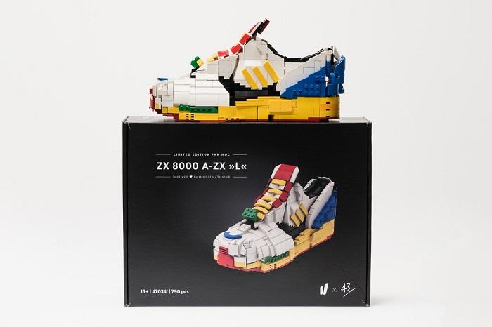 Adidas Lego Sculpture Shoes