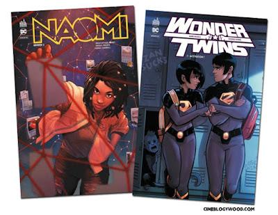 Naomi Wonder Twins comics CINEBLOGYWOOD