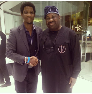 Seyi's throwback photos with top officials