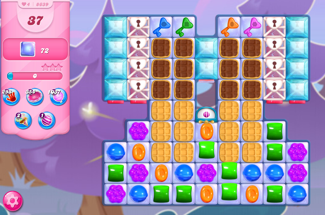 Candy Crush Saga level 8639