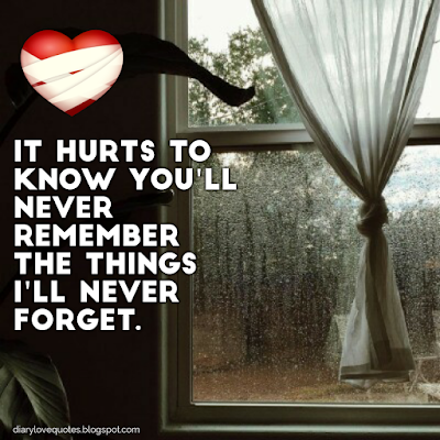 broken heart picture quotes - diary love quotes