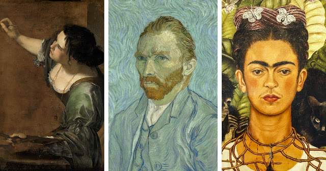 Learn About Famous Artists, Dimensions Of Famous Paintings, Famous Achromatic Paintings Pictures