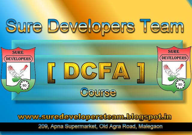 Diploma in Computerised Financial Accounting [DCFA]