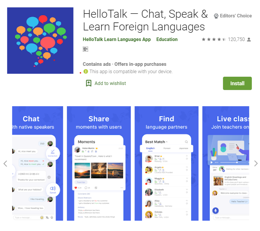 Top Advance language learning apps 2020 for free but limited