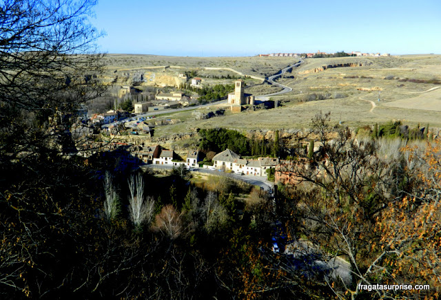 Vale aos pés do Alcázar de Segóvia