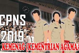 FORMASI CPNS 2019 KEMENAG (Kementrian Agama)