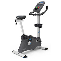 Nautilus U618 Upright Exercise Bike, review features compared with U616 and U614, Performance Series for intensive training