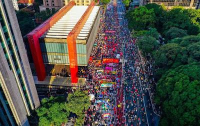 29M: Milhares ocupam Paulista, em São Paulo, por 'Fora Bolsonaro'