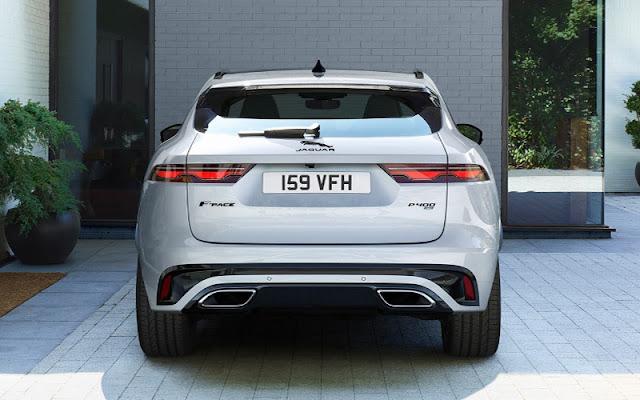 Jaguar F – Pace có đuôi xe lấy cảm hứng từ Jaguar F - Type