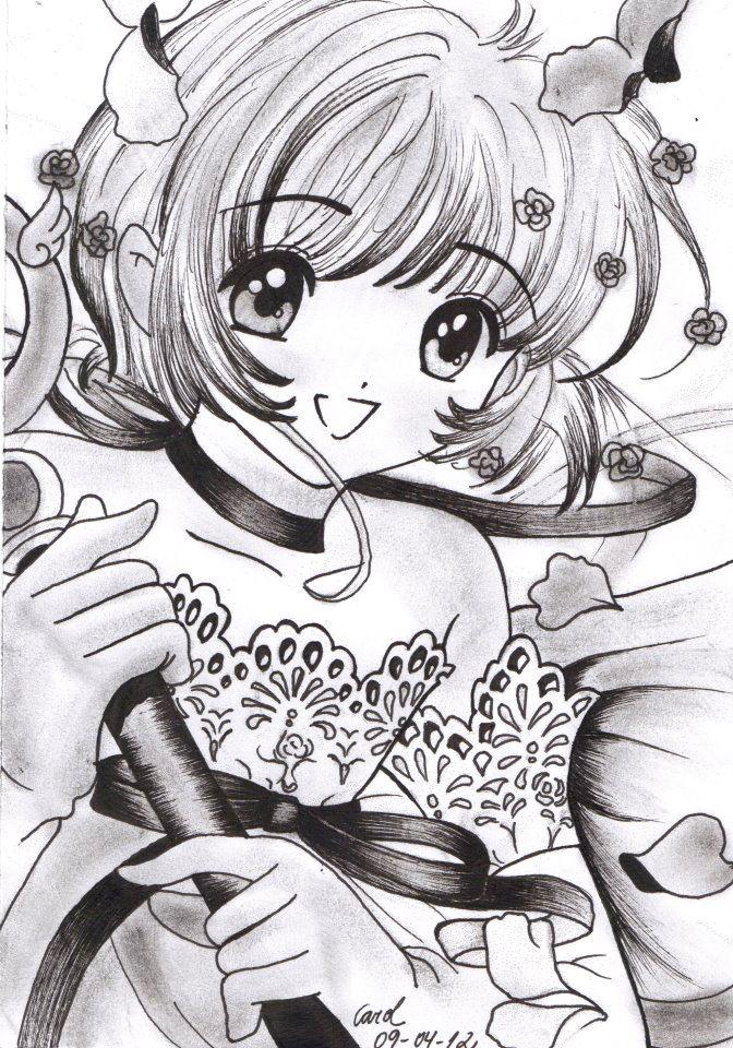 Carol Desenhos Sakura Card Captors Nankin