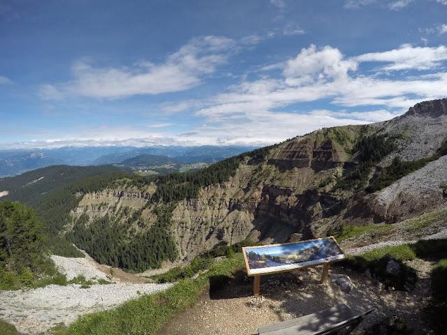 sentieri escursioni parco canyon bletterbach