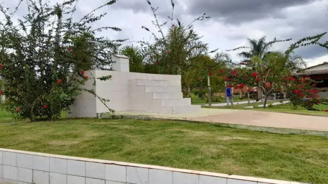 Prefeitura realiza obras de reforma e revitalização no Cemitério Parque Águas Lindas para o Dia de Finados
