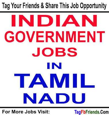 Jobs In Tamil Nadu