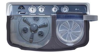 Spesifikasi Mesin cuci LG dua tabung