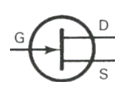 Transistor Symbol - JFET N Channel