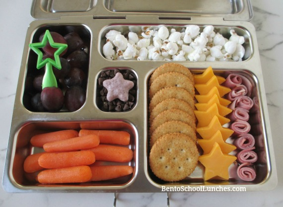 Star Themed Kids DIY Homemade Lunchables