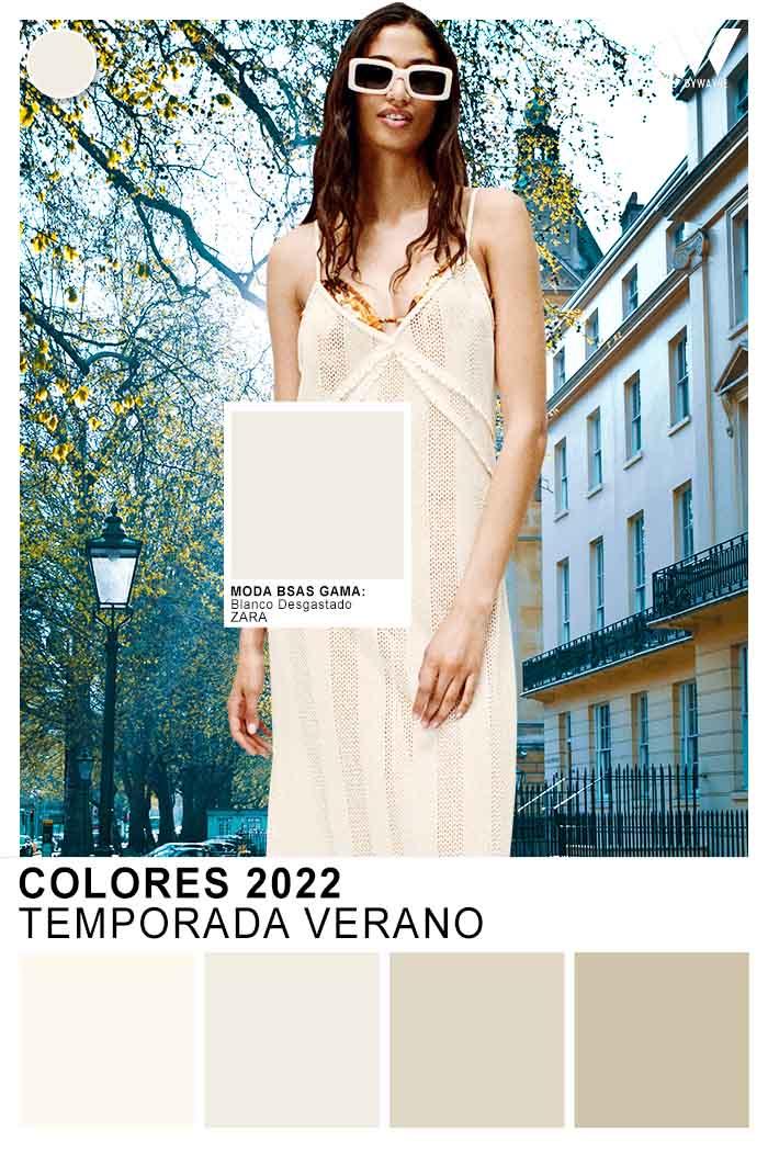 tonos neutros primavera verano 2022 moda mujer colores