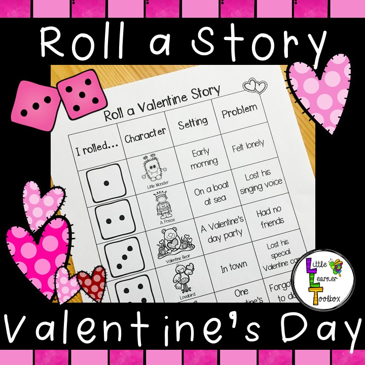 https://www.teacherspayteachers.com/Product/Roll-a-Story-Valentines-Day-2995778