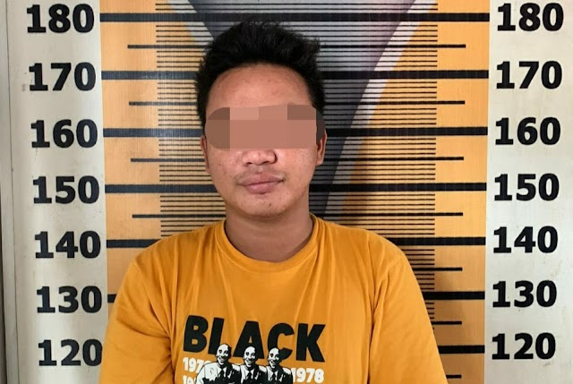 Diduga Bandar Sabu, Pria di Tebing Tinggi Kena Tangkap Polisi,  Barbutnya 4 jie