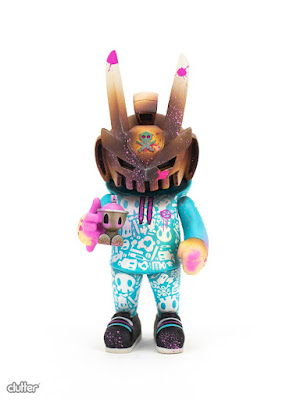 Clutter Exclusive SprayTEQ13 Vinyl Figure by Czee13 x Quiccs