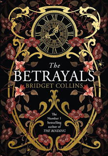 The Betrayals by Bridget Collins book cover