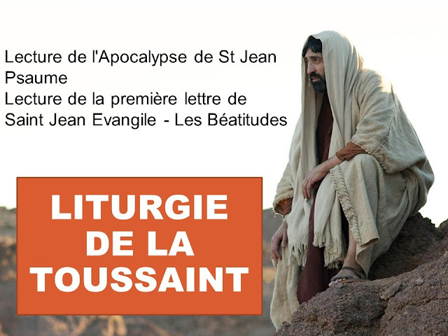Diaporama de la messe de la Toussaint