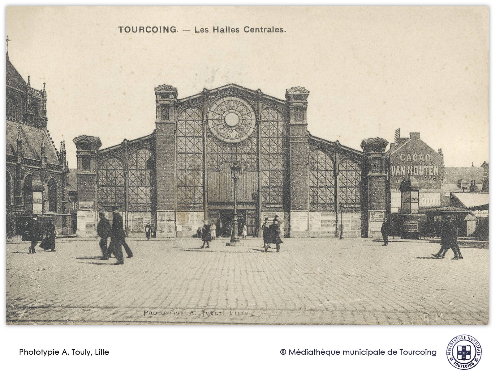 Phototypie Touly, Tourcoing Halles