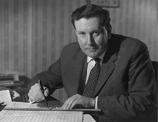 Sir Malcolm Arnold in 1958