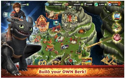 Dragons: Rise of Berk download